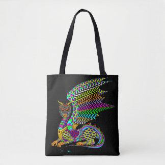 Dragon Spirit Canvas Tote