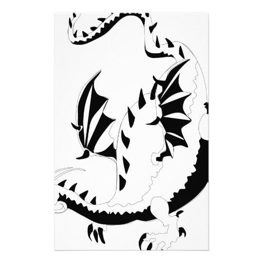 dragon stationery