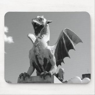 Dragon statue in Ljubljana Slovenia Mouse Pad