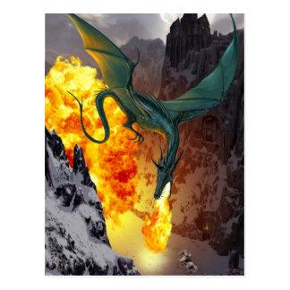 Dragon Strike Postcard