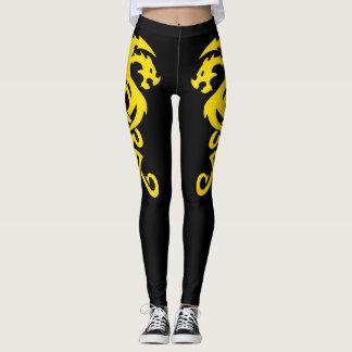 Dragon style leggings