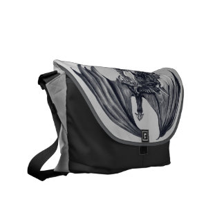 Dragon & Sword Messenger Bag