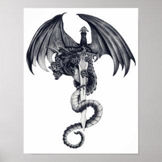 Dragon & Sword Poster Art