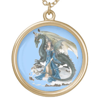 Dragon Tamer 2 Gold Plated Necklace