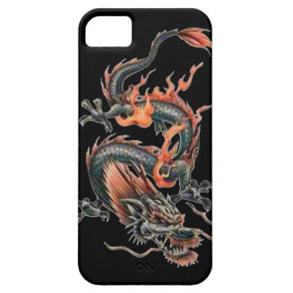Dragon tattoo art cool fantasy creature fire case for the iPhone 5