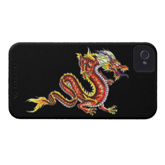 Dragon tattoo art cool fantasy creature fire iPhone 4 case