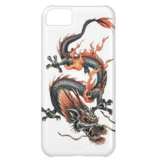 Dragon tattoo art cool fantasy creature fire iPhone 5C cases