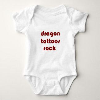 dragon tattoos rock t shirt