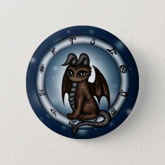 Dragon Taurus Zodiac 2 Inch Round Button