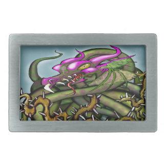 Dragon Thorns Rectangular Belt Buckles