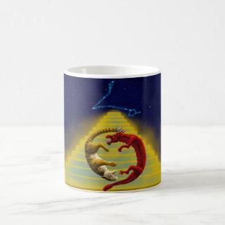 Dragon Tiger Constellation Coffee Mug