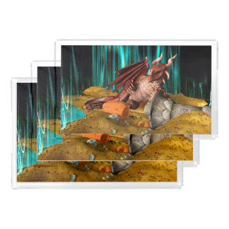 Dragon Treasure Acrylic Tray