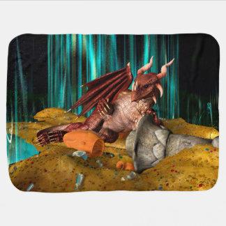 Dragon Treasure Baby Blanket