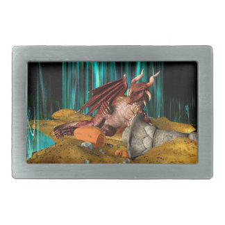 Dragon Treasure Belt Buckle