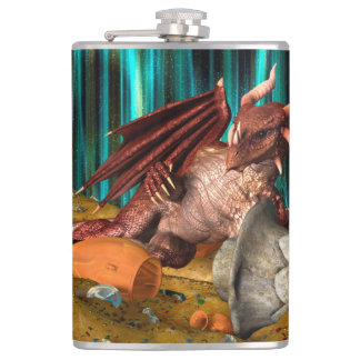 Dragon Treasure Hip Flask