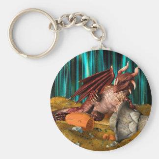 Dragon Treasure Keychain