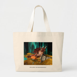 Dragon Treasure Large Tote Bag