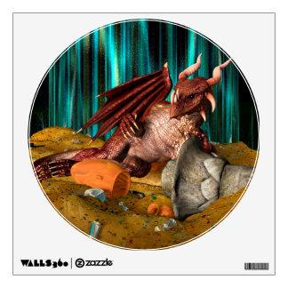 Dragon Treasure Wall Sticker