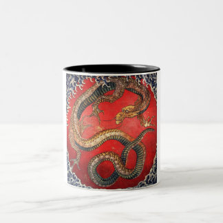 Dragon Two-Tone Coffee Mug