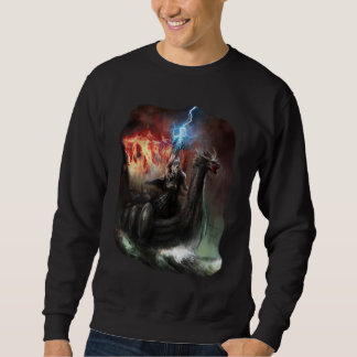 Dragon Viking Ship Dark Sweatshirt