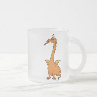 Dragon Warrior 16 Frosted Glass Mug