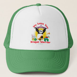 Dragon Warrior Love Trucker Hat