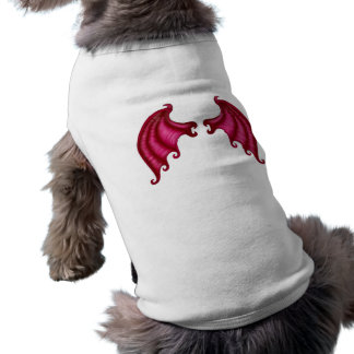 Dragon wings dog t-shirt