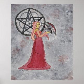 Dragon Witch Print