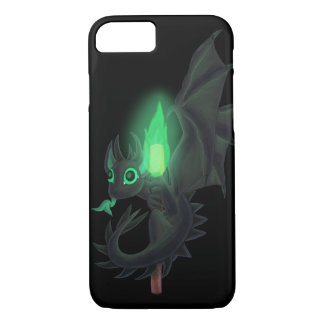 Dragon With Green Fire iPhone 7 Case