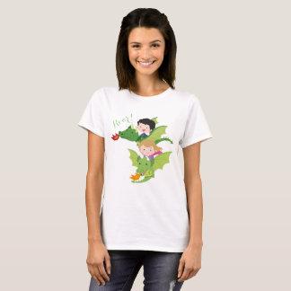 Dragon woman t-shirt