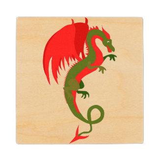 Dragon Wood Coaster