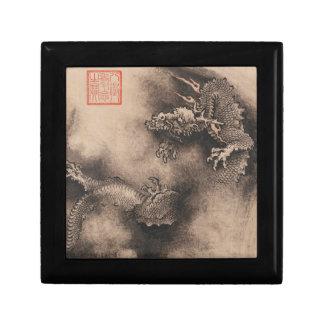 Dragon Year Chinese Zodiac sign J Box Jewelry Boxes