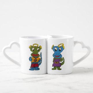 DragonAngle Coffee Mug Set