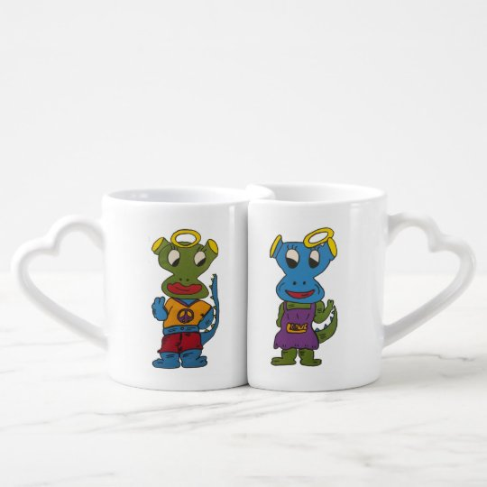 DragonAngle Coffee Mug Set