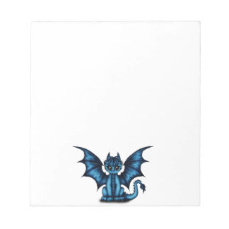 Dragonbaby blue notepad