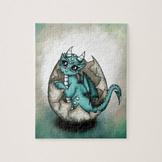Dragonbaby in egg jigsaw puzzle