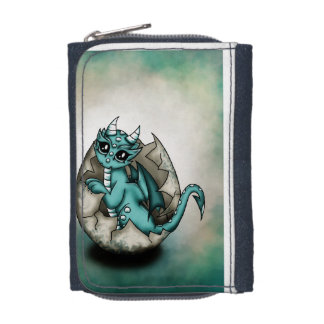 Dragonbaby in egg wallet