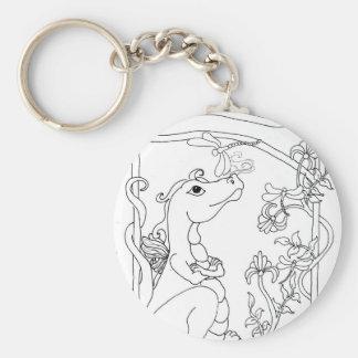 Dragonette Keychain