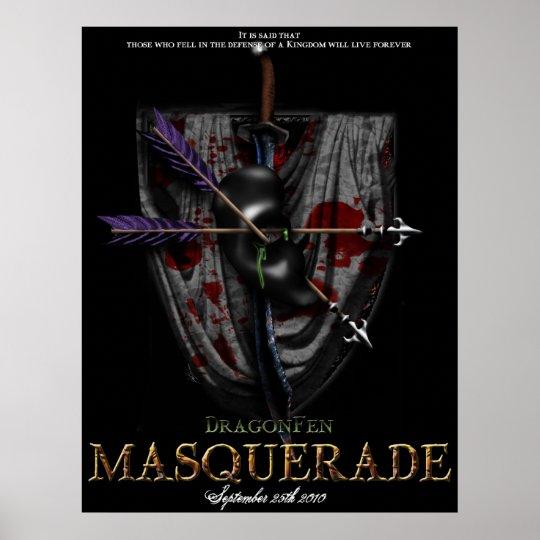 DragonFen Masquerade Poster