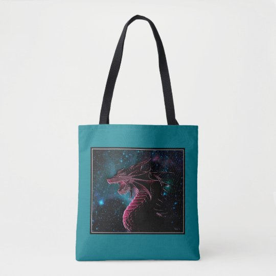 Dragonfire Tote Bag