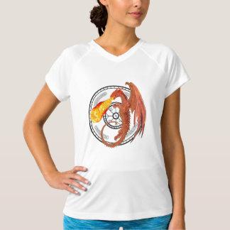 DragonFire Women's Sport-Tek  V-Neck T-shirt