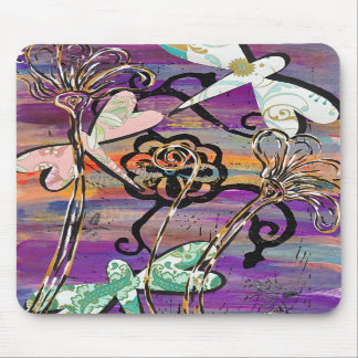 Dragonflies 3 Mousepad