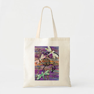 Dragonflies 3 Tote Bag