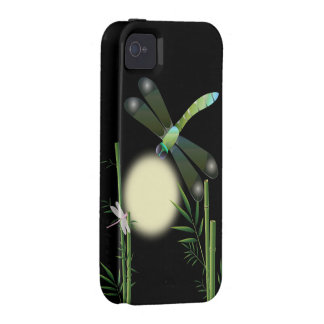 Dragonflies and Bamboo Vibe iPhone 4 Covers