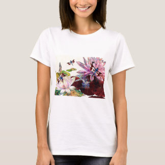 DRAGONFLIES AND LOTUS.jpg T-Shirt