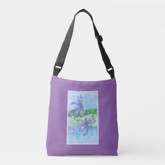 Dragonflies Crossbody Bag