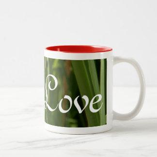 dragonflies in love Two-Tone coffee mug