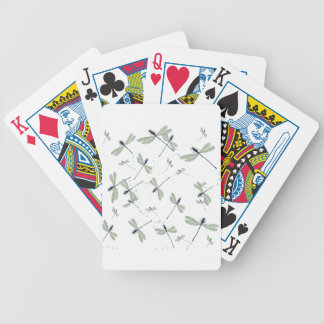 dragonflies in the sun bicycle playing cards