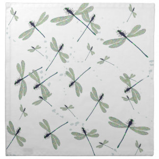 dragonflies in the sun napkin
