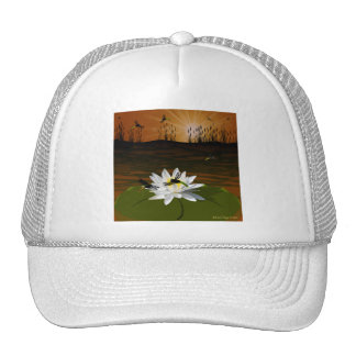 Dragonflies on the Pond Hats